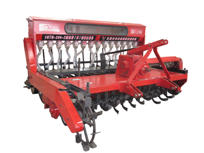 200 stubble cultivation seeder ( pulling-seeder wheel)
